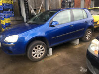 BREAKING - VOLKSWAGEN GOLF MK5 - BLUE - ALL PARTS AVAILABLE