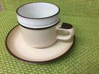Denby tea set of 8