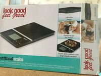 Nutritional scales provides nutritional data for 999 foods