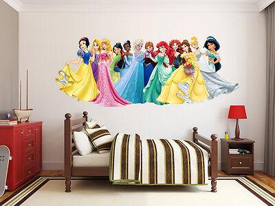 150 Disney Princesses Frozen Elsa Anna LARGE VINYL WALL STICKER DECALS CHILDREN