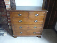 Chest of drawers, 2 short over 3 long, good condition