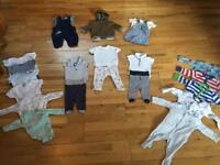 Bundle. 0-3 months boys ( next , m&s etc )