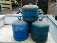 Campingaz gas bottles