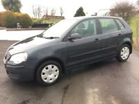 VOLKSWAGEN POLO 5 DOOR 2007 ***MOT APRIL 2018***
