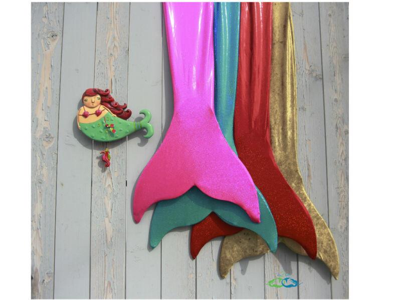 Mermaid Clock Nautical Beautiful Fun 10% of Purchase goes to Heal the Bay