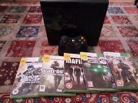 Microsoft Xbox 360 E- 250 GB Black Console