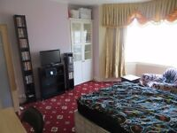 All bills inclusive, lovely spacious double bedroom for single person in Zone2 for rent