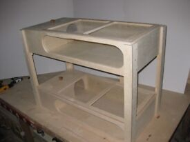 NEW DUPLEX TORTOISE TABLE 40' X 19'' X8'' REMOVABLE MESH LID, WITH WINDOW