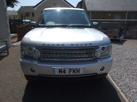 For Sale Range rover 4.4 V8 Vogue Auto, Low milage 61216 miles, Full service history, For spec