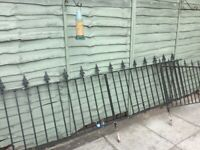 Metal driveway gates and railings PRICE REDUCED