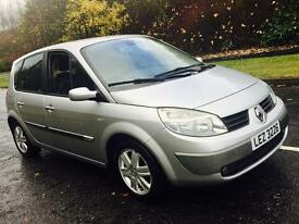 "2006 RENAULT SCENIC FULL MOT 16"" RENAULT ALLOYS ALL GOOD TYRES AIR CON"