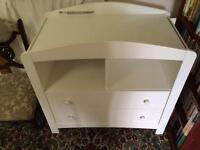 Mothercare changing table/unit