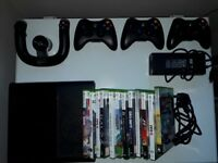 Xbox360 bundle - console, controllers, 12 games