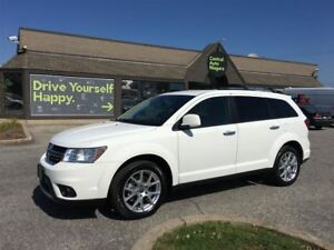 2017 Dodge Journey GT / AWD / LEATHER / V6 / 7 PASS