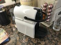 Nespresso Coffee Machine With Aerocino and other assessories
