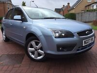 *12 MONTHS MOT&6 MONTHS WARRANTY*2007(07)FORD FOCUS 1.8 CLIMATE 5DR LOW MILES DRIVES GREAT*
