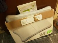 Wii balance board for sale ONLY £6 WITH ORIGINAL BOX AND INSTRUCIONS