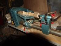 clarke 37ins 5 speed wood lathe