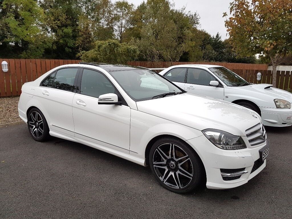2013 mercedes c220 amg sport plus white with panoramic roof in strabane county tyrone gumtree - Mercedes c220 coupe amg sport ...
