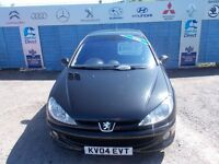 PART X DIRECT OFFERS A PEUGEOT 206 2.0 HDI WITH MOT UNTIL MAY 2018!!!