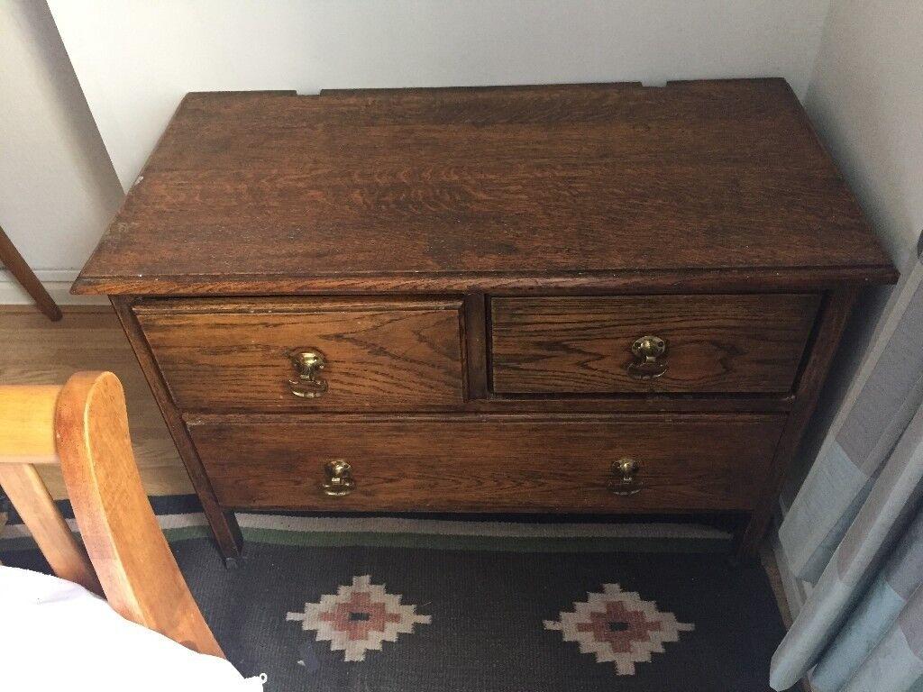 Oak antique pine chests cabinet bureau tv stand available