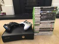 Xbox 360 250GB - 19 Games (£200 Worth of Games) - 2 controllers (1 Limited Edition)