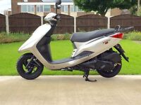 Yamaha XC125e in immaculate spotless cond HPI clear Extremely low mileage Full mot UK DEL