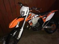 KTM 125 EXC (SWAPS TRY ME)