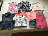 Baby girl clothing 9-12 months