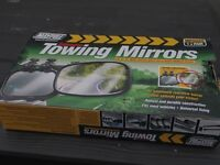 Towing mirrors ideal for caravan, horse box, trailer towing etc