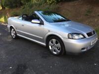 Vauxhall Astra 1.6 bertone convertible 1 owner 43000 miles like Focus golf megane