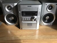 Sharp Stereo/Sound System 3 disc player