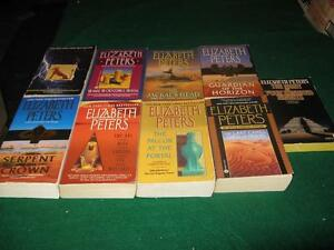 Elizabeth peters books $1 each or $5 for the lot