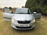 Skoda Fabia 1.6 TDI with a set of winter wheels!!!