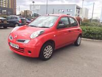 2010 NISSAN MICRA 1.2 PETROL MANUAL, MILEAGE 55K ONLY
