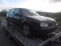 BREAKING 2002 VOLKSWAGEN GOLF 1.4 PETROL . NO TEXTS PLEASE . NEWRY / ARMAGH