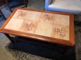 Tiled Retro Coffee Table
