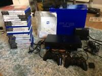 PlayStation 2 with box