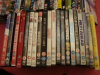 40 DVDs For Sale.......