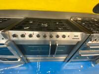 Stainless steel belling 100cm dull full cooker grill & double fan assets ovens with guarantee
