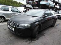 AUDI A3 TDI 1896cc TURBO 2004 Breaking for Parts Ref(AB70)