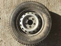 Mercedes Sprinter Spare wheel with as new Michelin tyre