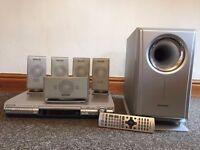 DVD player & surround sound (Panasonic)