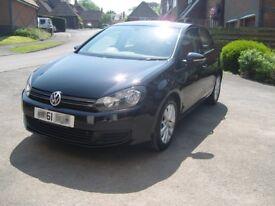 Volkswagen Golf Match 1.6 TDI - FVWSH - Deep Black Pearlescent - NOW SOLD