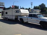 34 ft Trailer and Truck