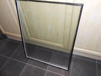 Double glazed door panel