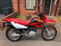 Honda xr 125 bargain road legal motorbike enduro