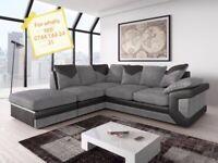 🔵💖🔴Brand New Dino Premium Fabric 3+2 / Corner Sofa Suite