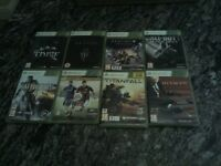 Xbox 360 games x 8