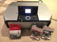 Canon Pixma MP610 all in one printer + inks